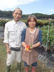 中村さんと奥さんの登美子さん