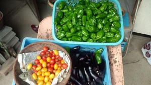 色とりどりの野菜たち